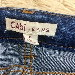 CAbi 222 Slim Boyfriend Jeans Size 6